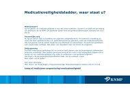 Medicatieveiligheid - Centrale Medicatie-incidenten ... - Knmp