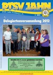 Delegiertenversammlung 2012 - PTSV Jahn Freiburg