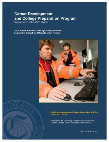 Career Development and College Preparation Program - California ...