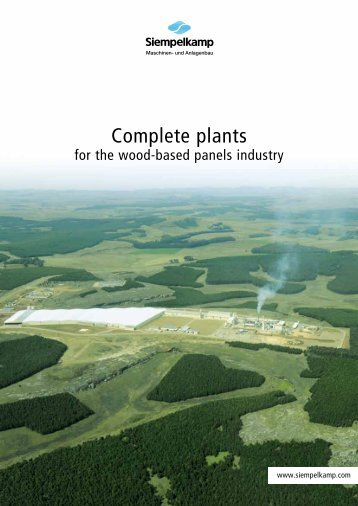 Complete plants - Siempelkamp