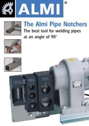 The Almi Pipe Notchers - Walsh Engineering