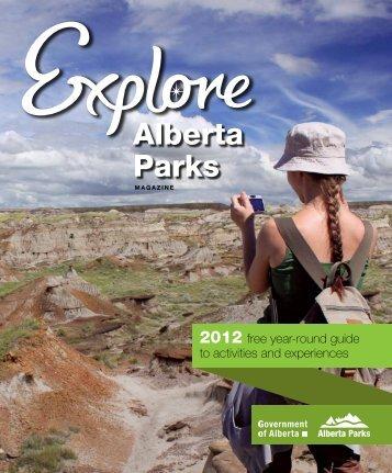 Explore Alberta Parks - Magazine - AlbertaParks.ca