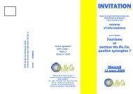 INVITATION - Fédération Horeca Wallonie