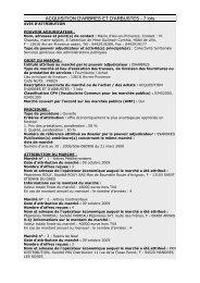 ACQUISITION D'ARBRES ET D'ARBUSTES - 7 lots - Aix-en-Provence
