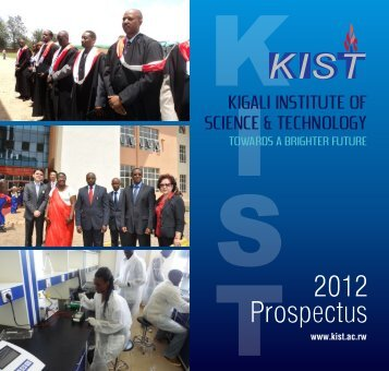 2012 Prospectus - Kigali Institute Of Science And Technology