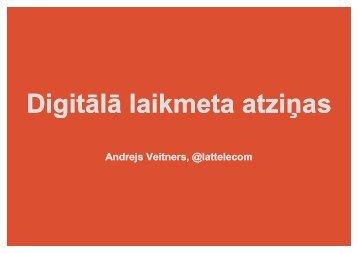 Andrejs Veitners, Lattelecom - BIG event