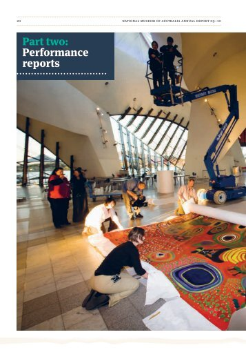 Part two: Performance reports - National Museum of Australia