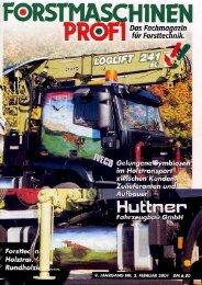 Februar 2001 - Huttner Fahrzeugbau GmbH