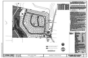 HOLLAND FARM OVERALL LAYOUT PLAN 3.0 - Town of Apex