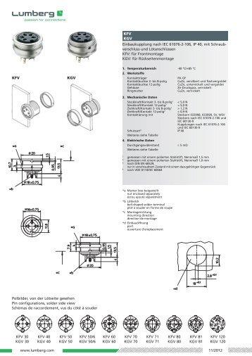 Détails (PDF) - Lumberg