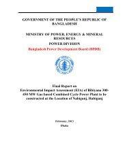 Bibiyana 300-450 MW EIA Report Part-1 - BPDB
