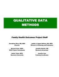 Course Materials - Family and Community Medicine