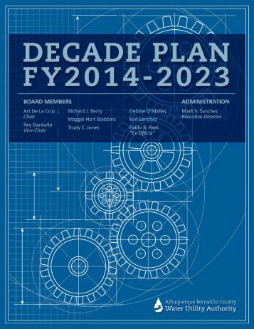 2014-2023 Decade Plan - the Albuquerque Water Utility Authority