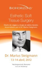 Esthetic Soft Tissue Surgery - BioHorizons