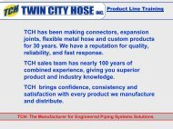 TCH Product Line Training - Emerson Swan
