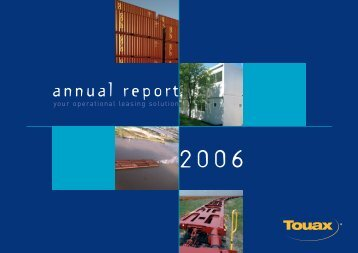 2006 Annual Report - touax group