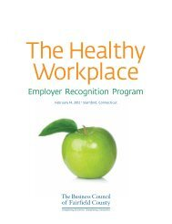 Employer Recognition Program - The Business Council of Fairfield ...