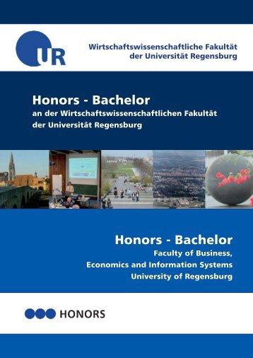 Honors - Bachelor Honors - Bachelor - Wirtschaftswissenschaftliche ...