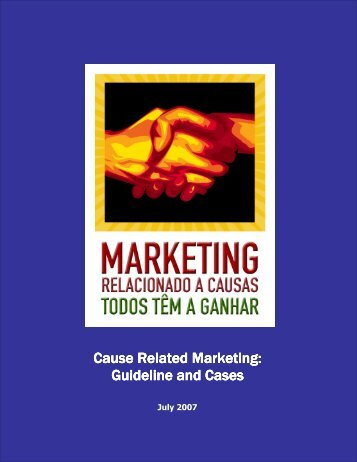 Cause Related Marketing: Guideline Guideline and Cases