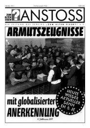Ausgabe vom Oktober 2011 - Zum alten Eisen