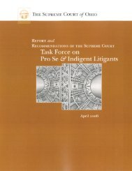 Report and Recommendations of the Supreme Court Task Force on ...