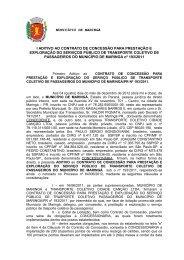 Contrato 193/11 - TCCC - Maringá - Estado do Paraná