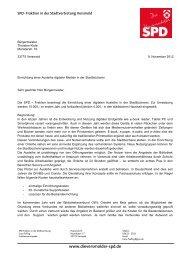 Antrag auf Einrichtung einer Ausleihe digitaler Medien in der ...