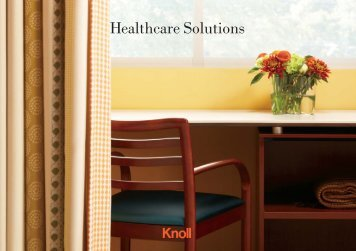 Healthcare Solutions - Knoll