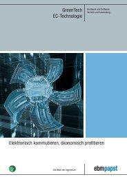 GreenTech EC-Technologie Elektronisch kommutieren ... - ebm-papst