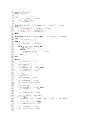 1: program DLstCirC; 2: uses LstCirC; 3: 4: var 5: Lista ... - UFS