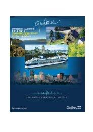 3 stratÉgie de marketing 2010-2013 croisiÈres… - Tourisme Québec