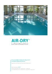 Download - AIR-DRY Luftentfeuchter