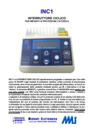 int. ciclico per prove on/off - Watergas