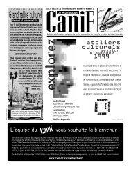 30 août 1999 - Cégep du Vieux Montréal