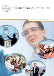 Science for a Better Life - Nachhaltigkeitsbericht 2007 - Econsense