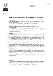 Rutin för läkemedelshantering inom socialförvaltningen - Varbergs ...