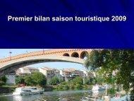 Bilan touristique 2009 - Tourisme Lot-et-Garonne