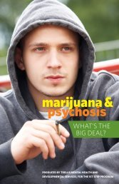 marijuana & psychosis - Canadian Mental Health Association ...