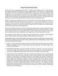 SMART Technologies ULC Perjanjian Lesen Pengguna Akhir ...