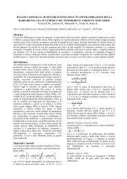 Analisi comparata di metodi di stima dell'evapotraspirazione della ...