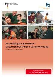 Beschäftigung gestalten – Unternehmen zeigen Verantwortung en.de