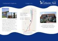 Hotelflyer - Hotel Schluister Park