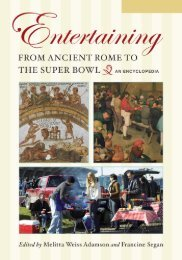 Entertaining from Ancient Rome to the Super Bowl ... - Historia Antigua