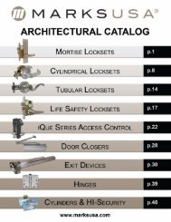 to view this brochure from Marks USA - NFMT
