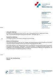 Weiterbildungskurrikulum Ärzte - Klinikfinder.de