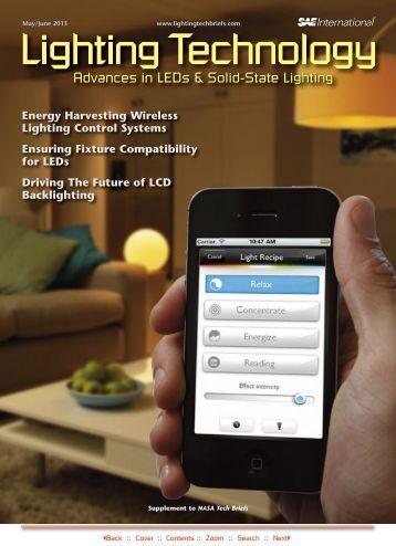 Energy Harvesting Wireless Lighting Control ... - NASA Tech Briefs