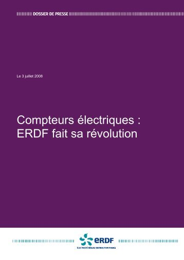 Compteurs électriques : ERDF fait sa révolution - Smart Grids
