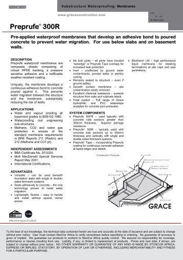 preprufe 300r installation instructions