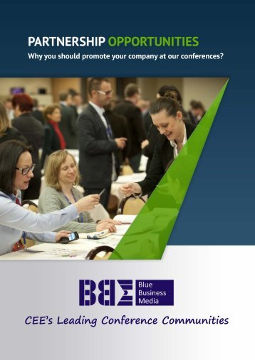 CEE's Leading Conference Communities - Blue Business Media