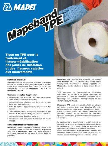 IMPERMÉABILISATION - Mapei